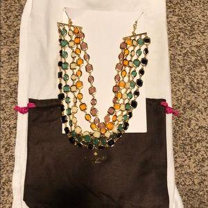 Multi color Kate Spade fashion necklace